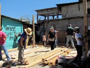 The house build